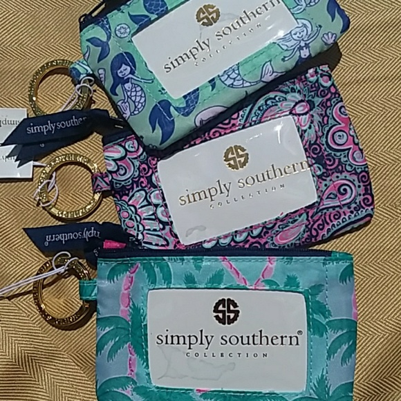 Simply Southern Accessories - Simple Southern ID Holder/Keychains